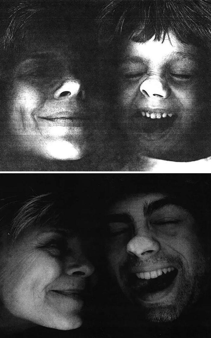 18 фотографий, на которых семьи повторили свои снимки из прошлого и на минутку вернулись в детство 3
