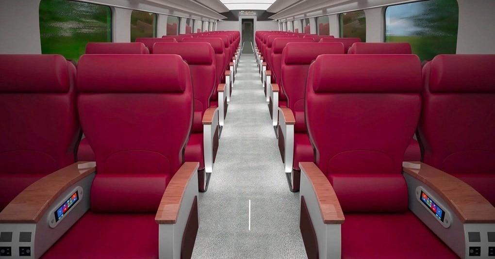 РЖД вновь радует! Компания показала концепт высокоскоростного поезда, который быстрее, чем «Сапсан»