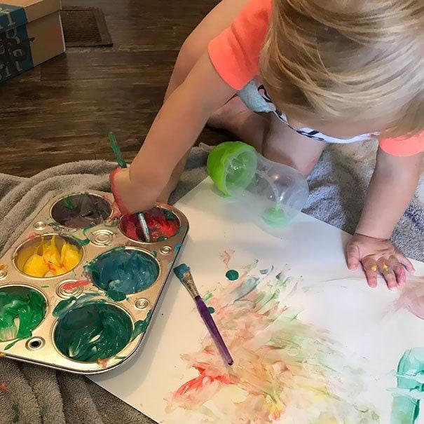 Мама Совет: Йогурт Плюс Раскраска пищи = Безопасная съедобная краска