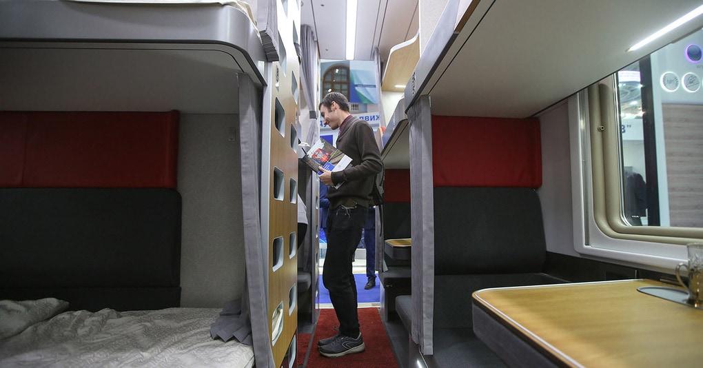 Помните новые плацкартные вагоны от РЖД? В сети появились их реальные фотографии