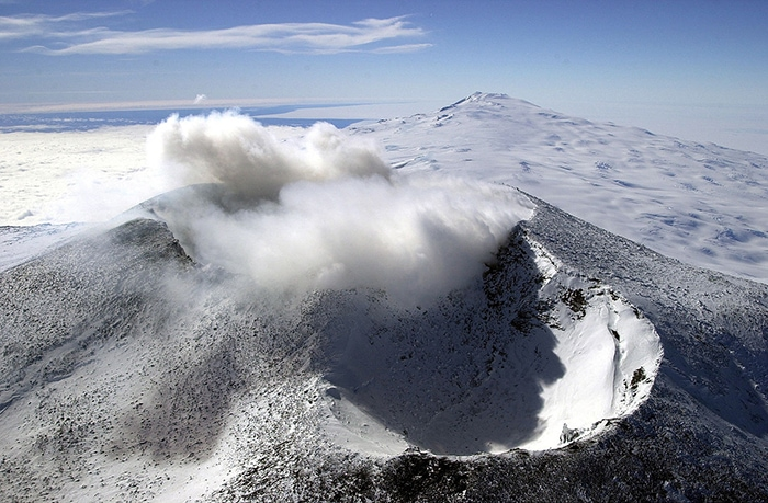 Mount Erebus Is One Of The Few Consistently Active Volcanoes On Earth