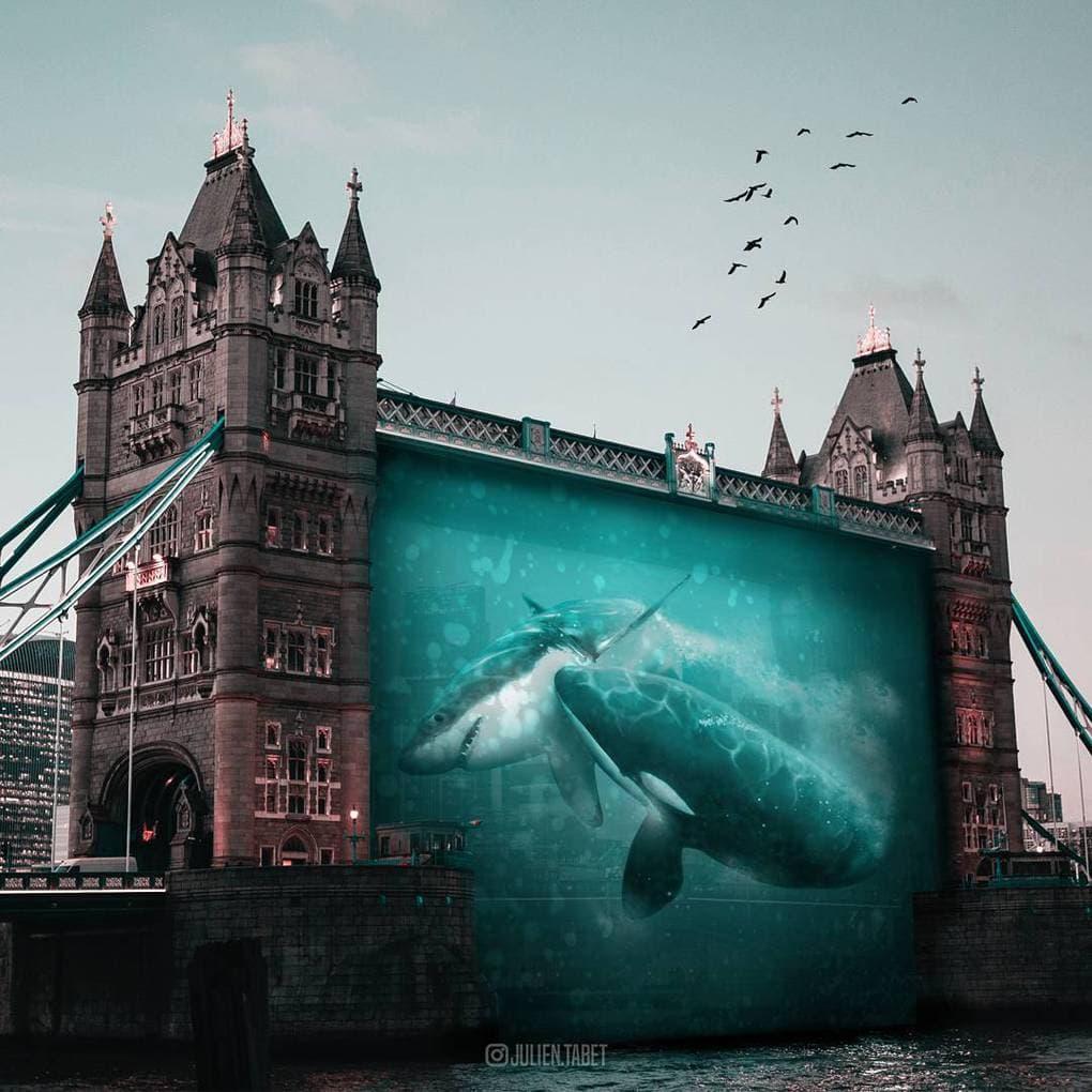 Цифровой художник из Франции изображает сюрреалистичных животных, которые будто пришли из наших снов 85