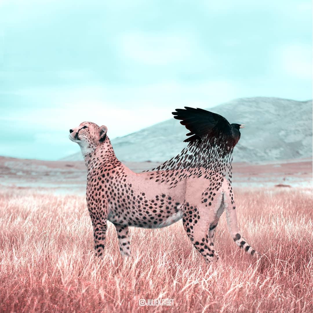 Цифровой художник из Франции изображает сюрреалистичных животных, которые будто пришли из наших снов 82