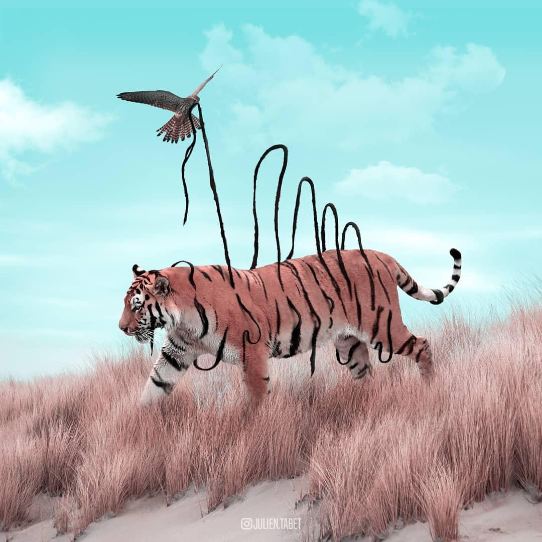 Цифровой художник из Франции изображает сюрреалистичных животных, которые будто пришли из наших снов 94