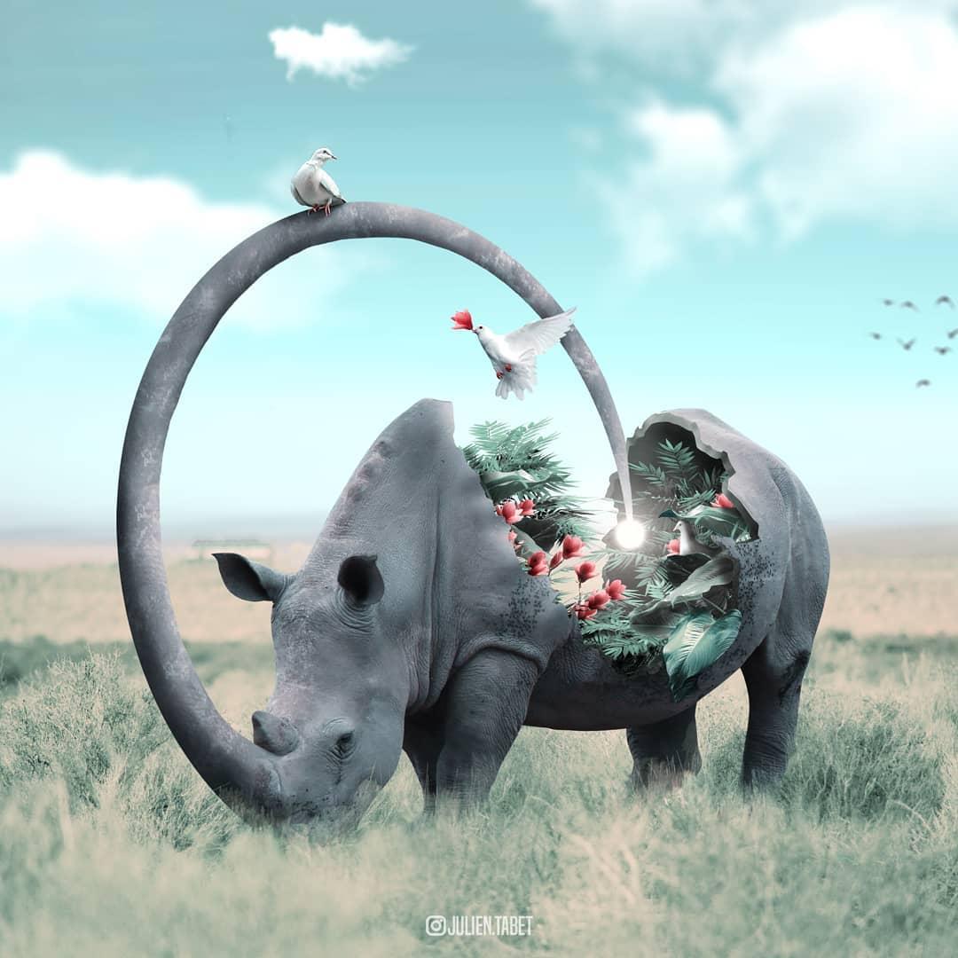 Цифровой художник из Франции изображает сюрреалистичных животных, которые будто пришли из наших снов 98