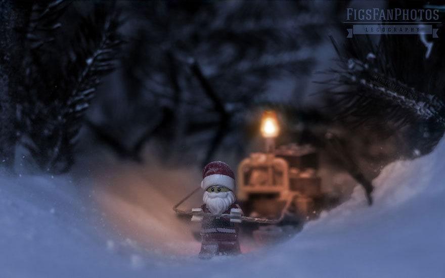 Фотограф снимает игрушки Lego и сам создаёт для них спецэффекты. И вот как выглядят его работы до и после 118