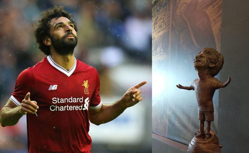 Египетский скульптор создал статую футболиста Мохаммеда Салаха, и она оказалась даже веселее, чем у Роналду 2
