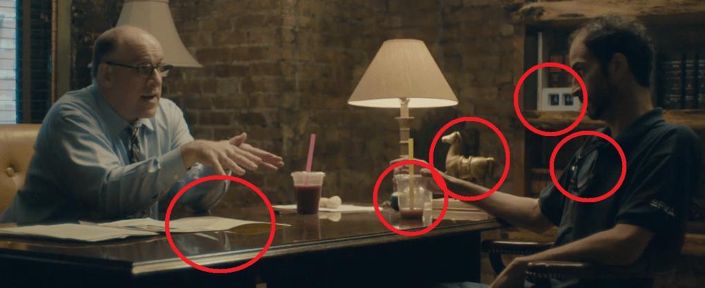 Помощница режиссёра предложила найти ляпы в отрывке из фильма и показала, чем плоха невнимательность 4