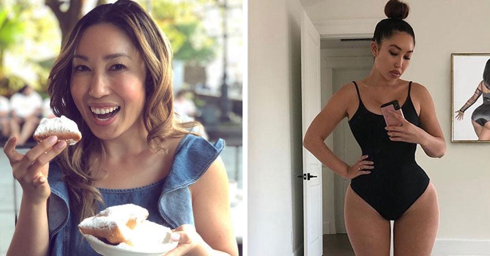 Тренер отфотошопила себя и показала, как выглядела бы, если бы соответствовала стандартам красоты разных лет