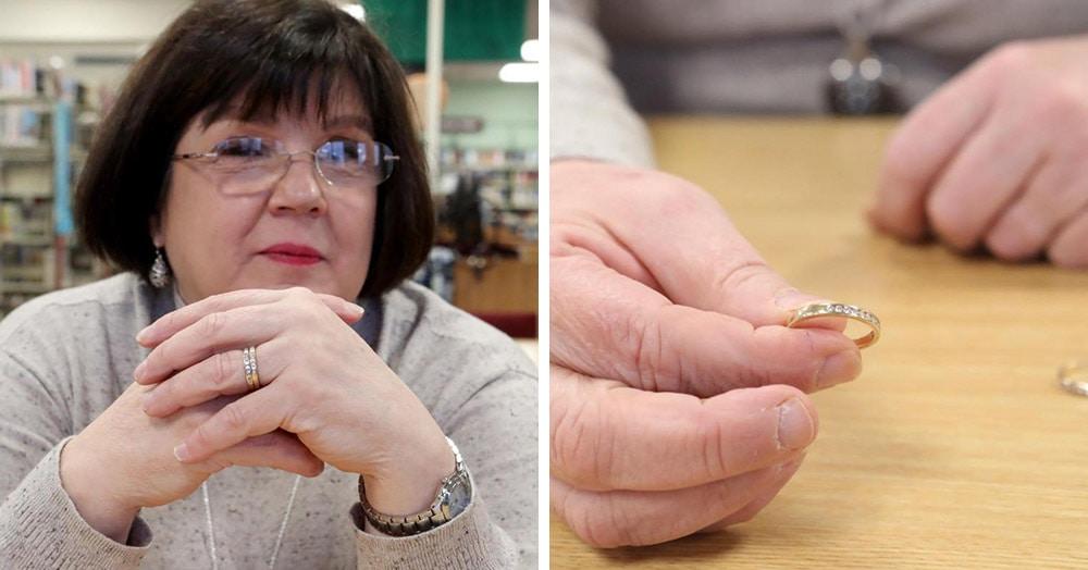 Женщина случайно уронила кольцо в унитаз, но оно, пройдя трудный путь, вернулось к ней спустя 9 лет