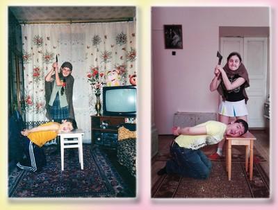 Люди делятся своими детскими фото и сравнивают, как они выглядели тогда и сейчас 7