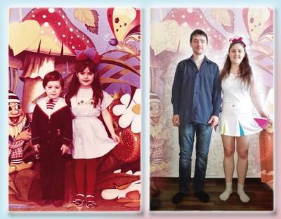 Люди делятся своими детскими фото и сравнивают, как они выглядели тогда и сейчас 6