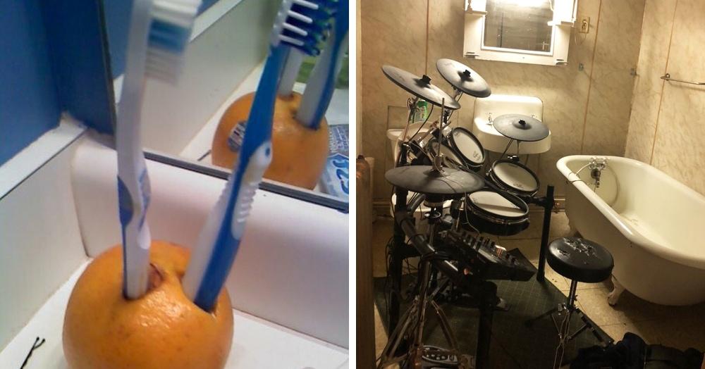 Девушки показывают странные вещи, найденные в ванных парней. Так много вопросов, так мало ответов