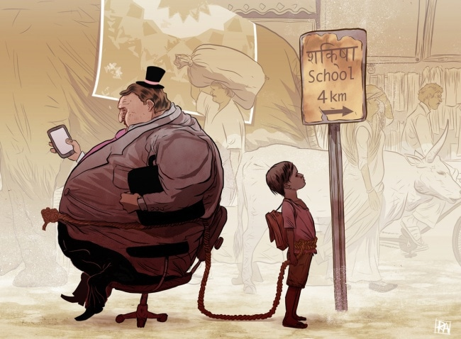 Испанский иллюстратор рисует жизненные карикатуры и вытаскивает наружу всё, что мы не хотим видеть 12