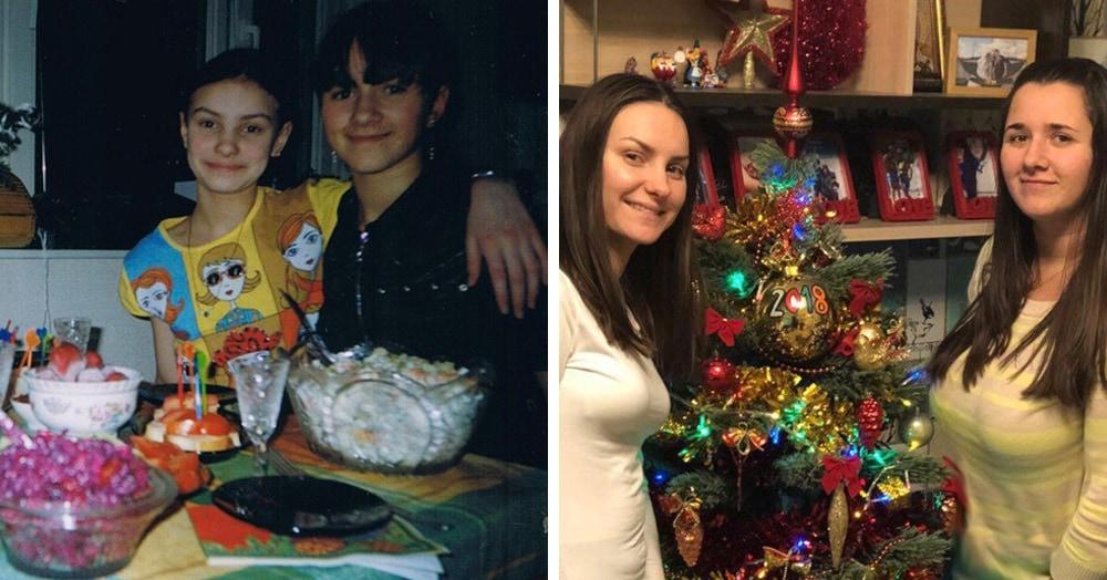 Люди делятся своими детскими фото и сравнивают, как они выглядели тогда и сейчас 4