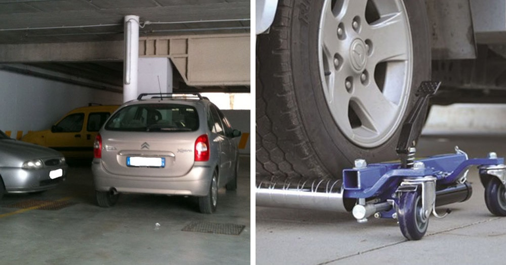 Хитрый незнакомец ставил машину на чужое парковочное место. Но его хозяин был хитрее (и оснащённее)
