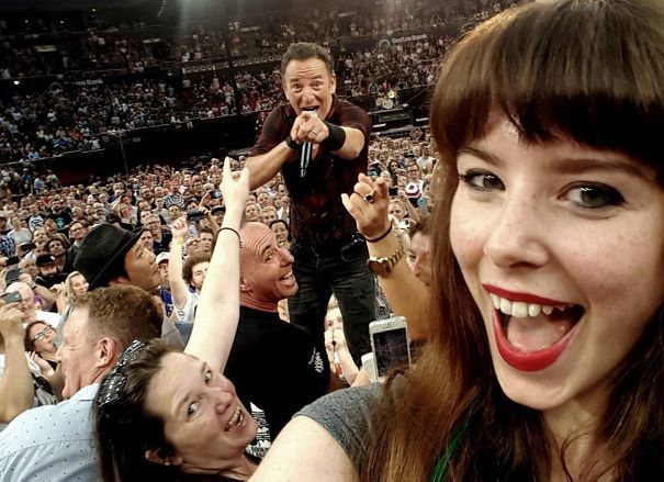 Just A Selfie With Bruce Springsteen