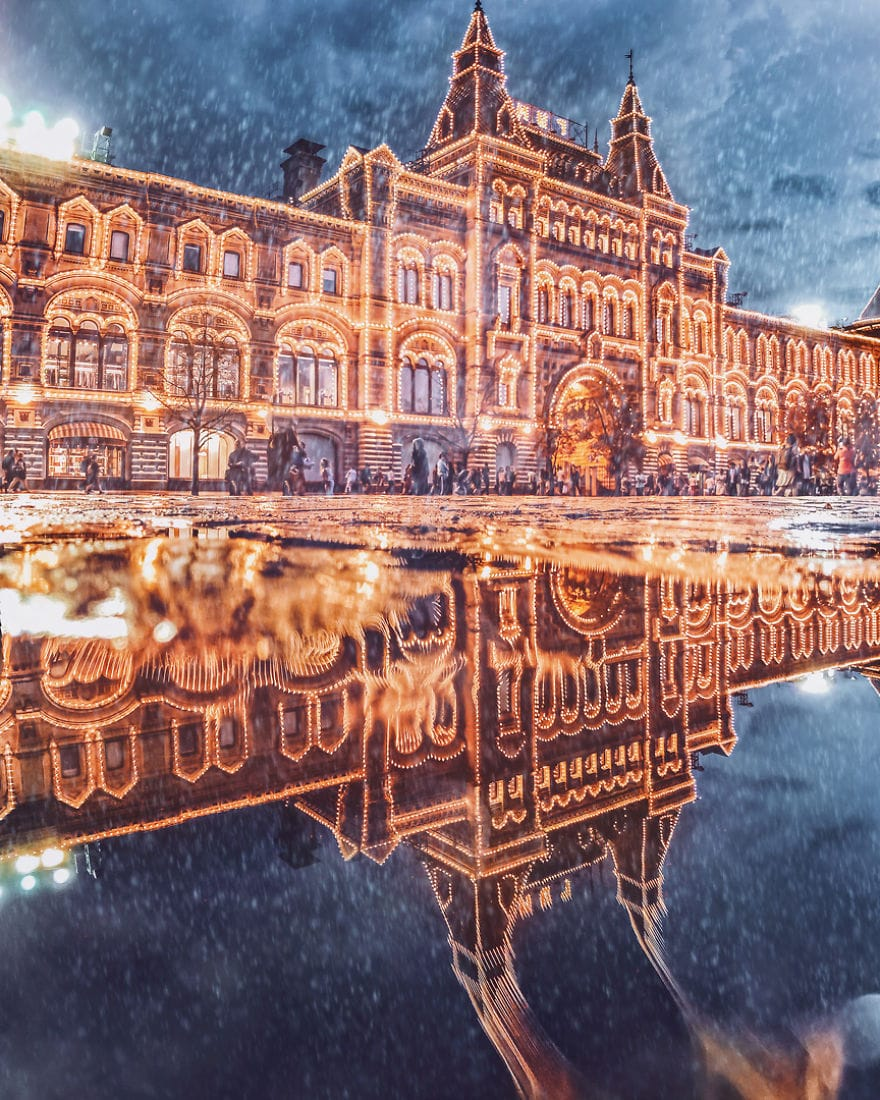 Moscow Looks Like A Fairytale During Winter