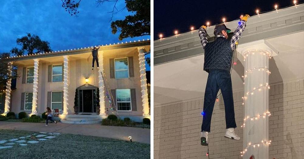 Американец хотел спасти парня, застрявшего на крыше. Но спасаться пришлось ему самому — от стыда