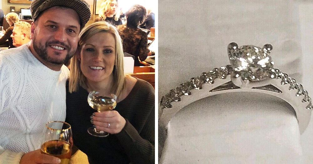 Британец делал девушке предложение, но занервничал и уронил кольцо. Да не куда-нибудь, а в водосток