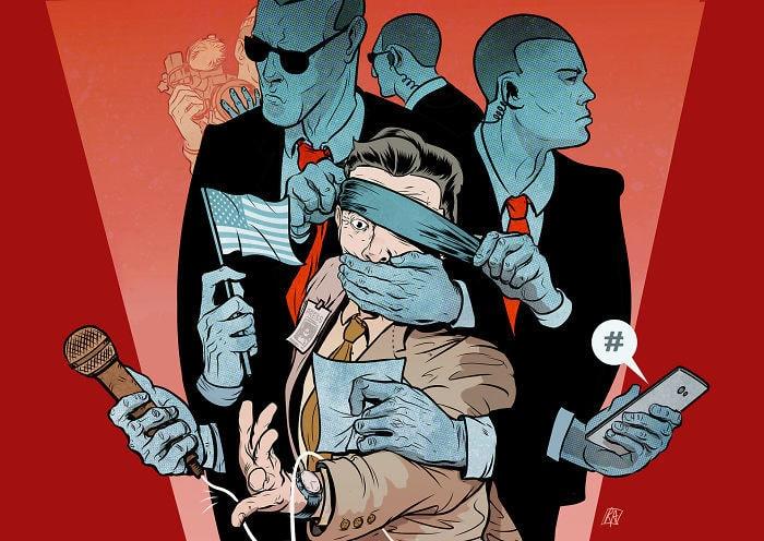 Испанский иллюстратор рисует жизненные карикатуры и вытаскивает наружу всё, что мы не хотим видеть 1