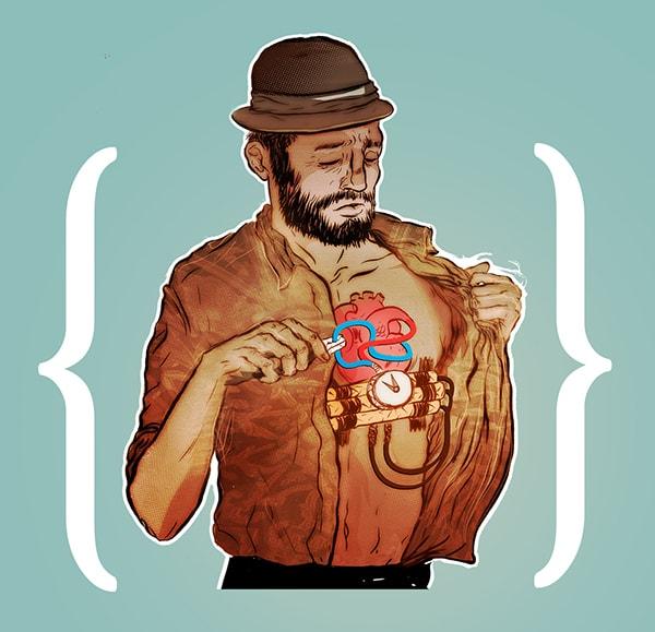 Испанский иллюстратор рисует жизненные карикатуры и вытаскивает наружу всё, что мы не хотим видеть 13