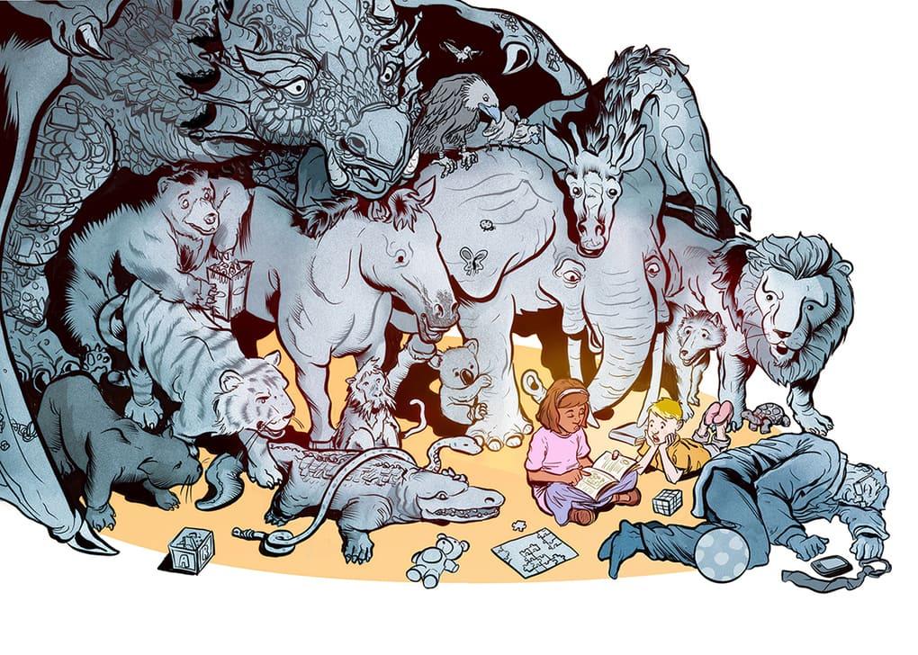 Испанский иллюстратор рисует жизненные карикатуры и вытаскивает наружу всё, что мы не хотим видеть 15