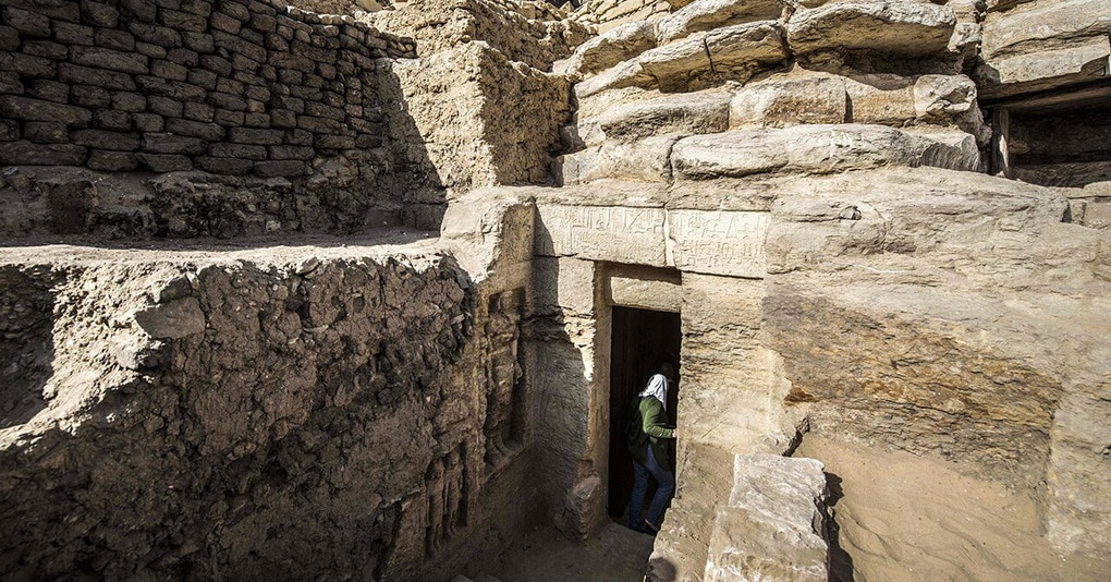 В Египте обнаружили почти нетронутую гробницу III тысячелетия до н. э. Её внутренний мир прекрасен!