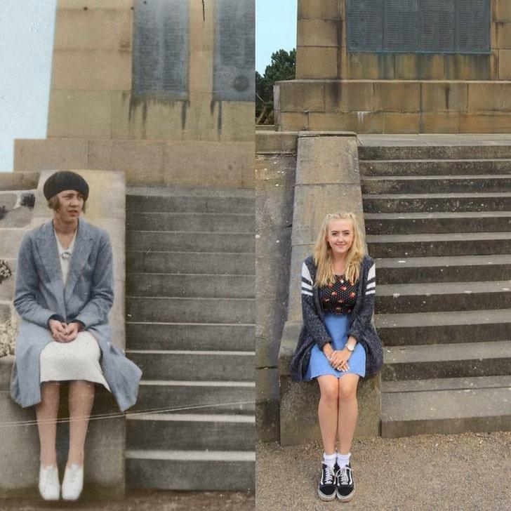 Люди делятся своими детскими фото и сравнивают, как они выглядели тогда и сейчас 18