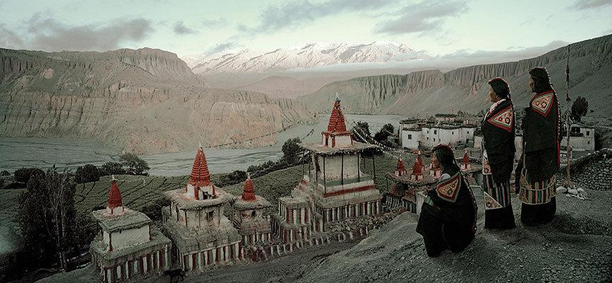 Angge Village, Upper Mustang Nepal