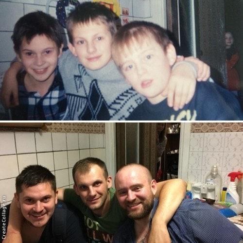 Люди делятся своими детскими фото и сравнивают, как они выглядели тогда и сейчас 12