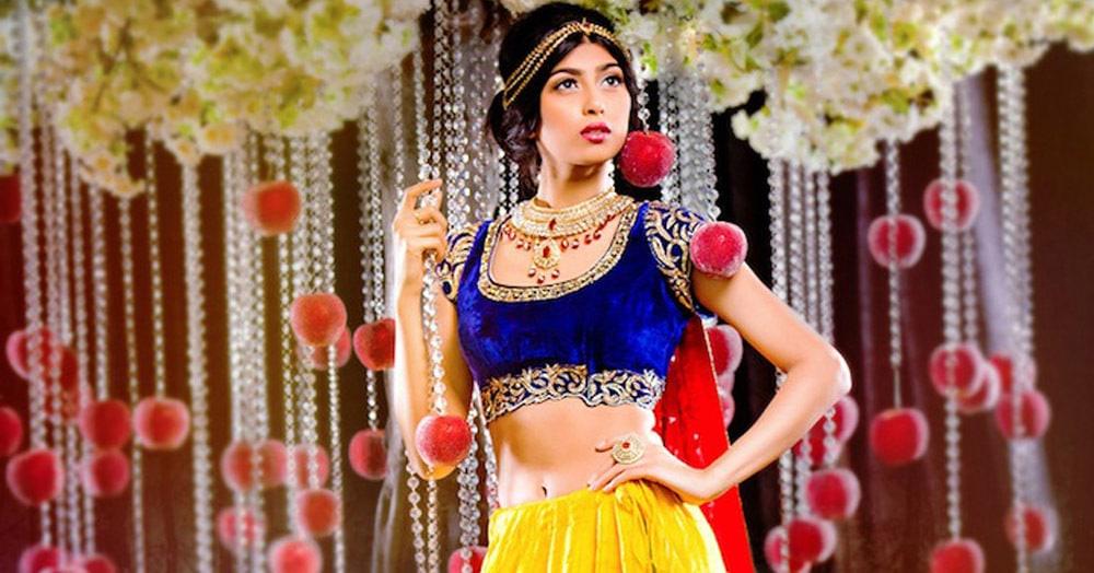 Фотохудожник представил, что было бы, если диснеевские принцессы жили в Индии. И многим идёт!