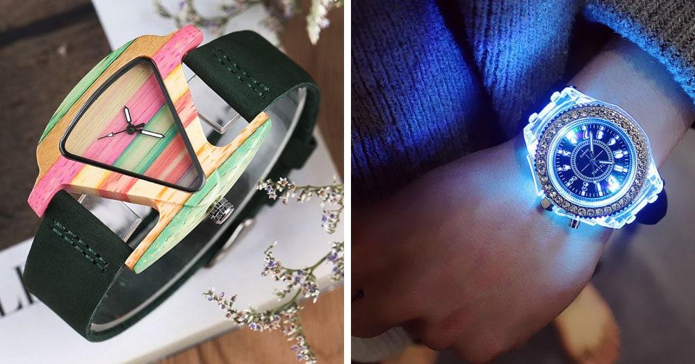 25 стильных наручных часов с AliExpress, которые порадуют своей красотой и оригинальностью