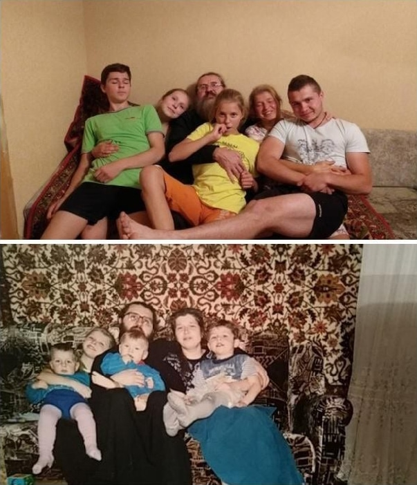 Люди делятся своими детскими фото и сравнивают, как они выглядели тогда и сейчас 13