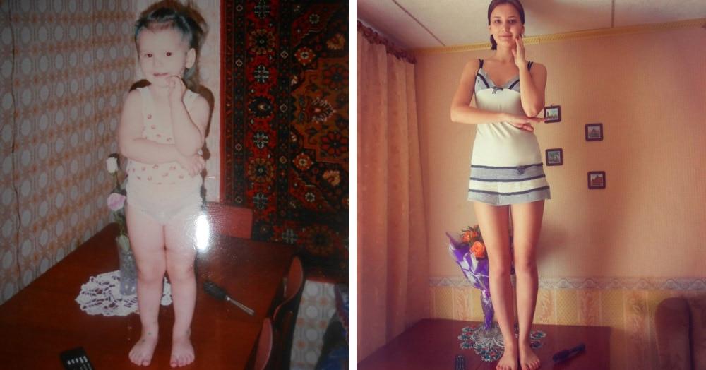 Люди делятся своими детскими фото и сравнивают, как они выглядели тогда и сейчас 3