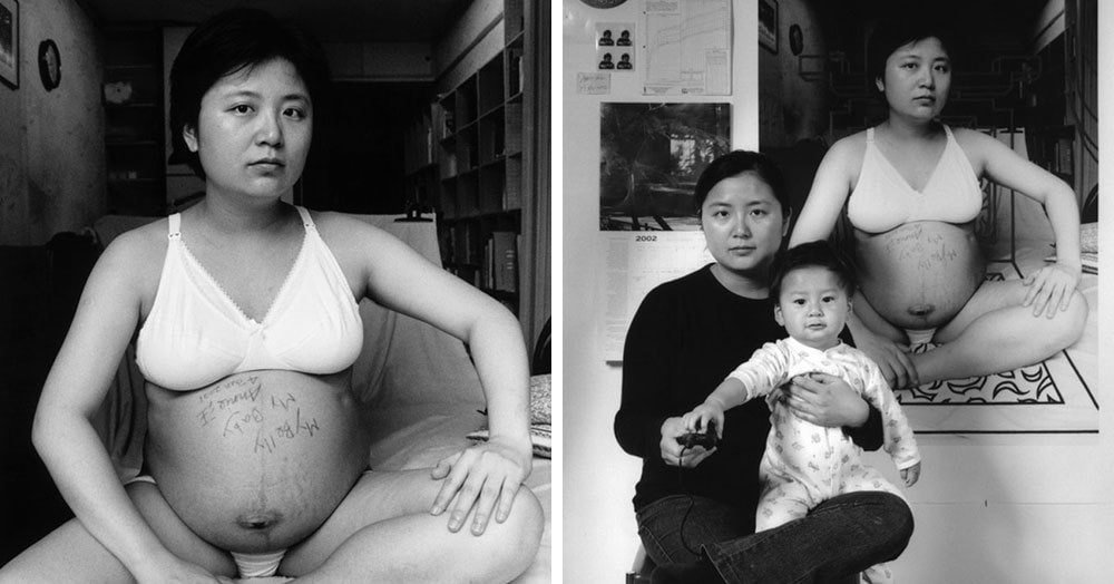 Фотограф из Тайваня запечатлела этапы взросления своего сына в проекте «Мать как создатель»