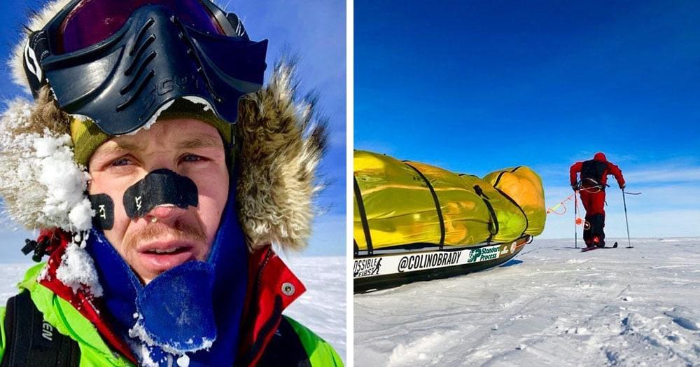 Американец стал первым, кто в одиночку пересёк Антарктиду на лыжах. Он рассказал, чего ему это стоило