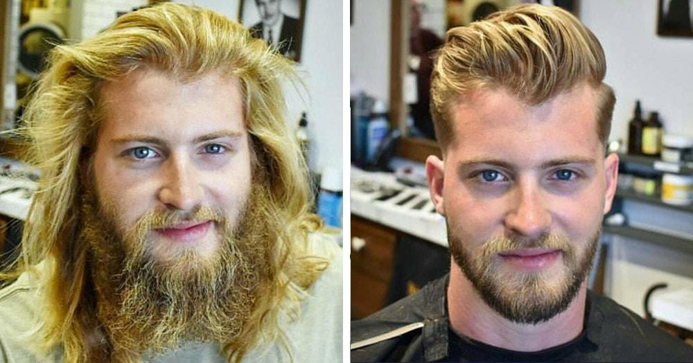 20 трансформаций, которые показывают разницу между ухоженной бородой и заброшенными кустами на лице