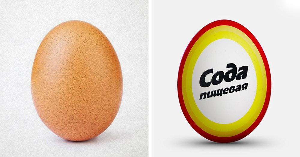 Помните яйцо-рекордсмена Инстаграма? Теперь оно и его братья — новый мем, от которого не убежать