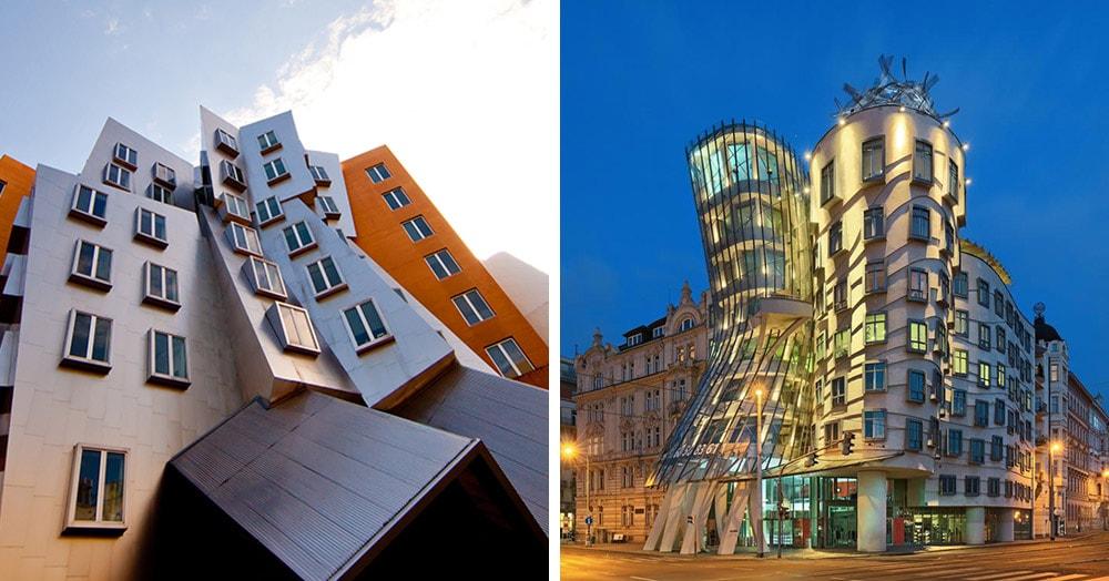 20 фантастических зданий великого Фрэнка Гери, которые ломают все представления об архитектуре