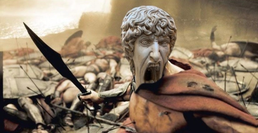 В сети появилось фото орущей статуи из Италии, которая докричалась до всех фотошопщиков интернета 8
