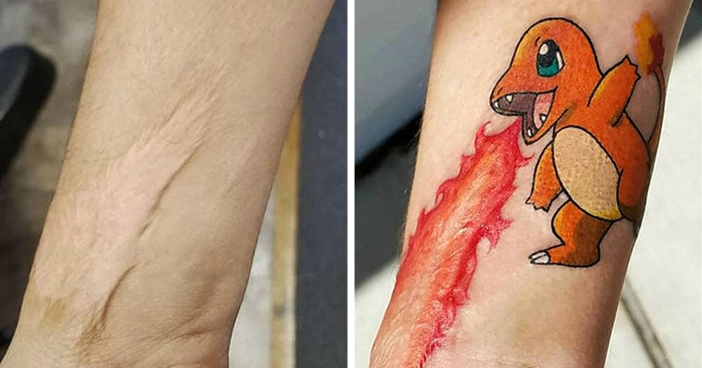 25 татуировок, благодаря которым владельцы могут хвастаться шрамами, а не прятать их
