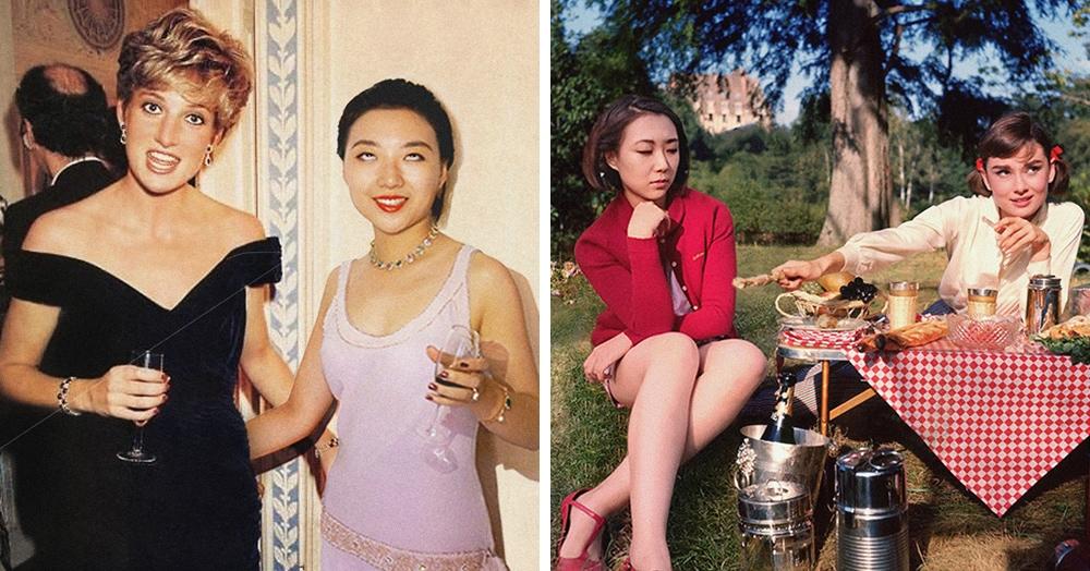 Китаянка фотошопит себя на фотографии знаменитостей. И без её присутствия они уже не такие крутые