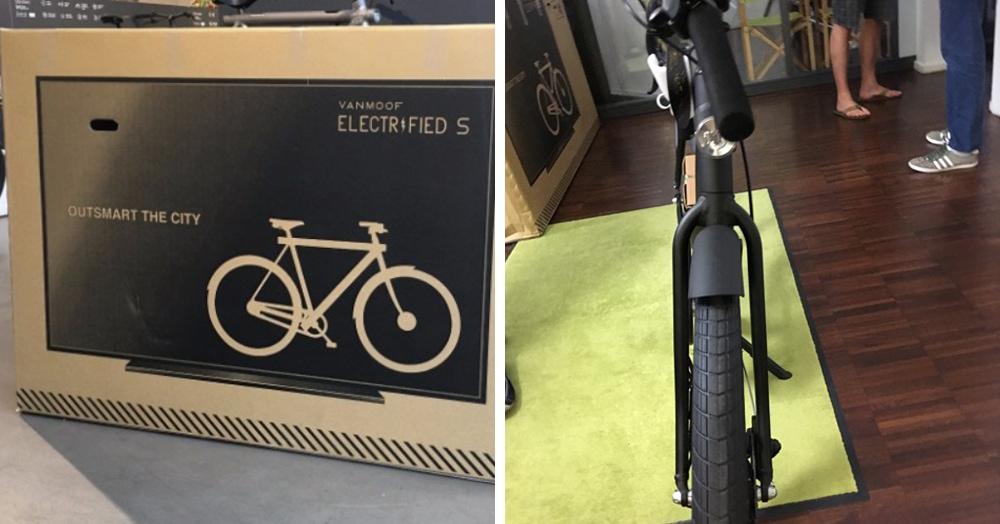 Фирма придумала, как спасти велосипеды от поломки при доставке. Теперь курьеры думают, что это телек