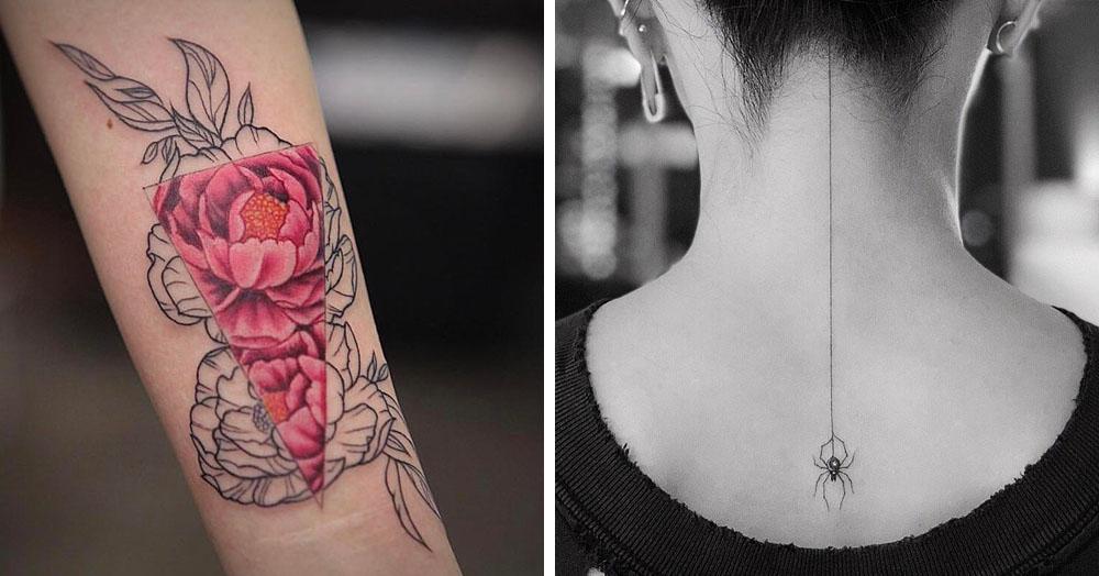 25 работ от тату-студии, куда за рисунками приходят даже Рианна и Селена Гомес