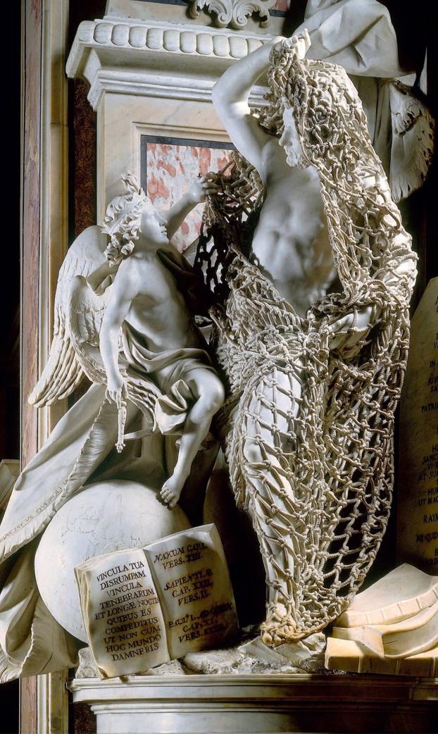 0lujsor - В сети обратили внимание на скульптуру 18 века: люди не могут поверить в то, что она ВСЯ из мрамора