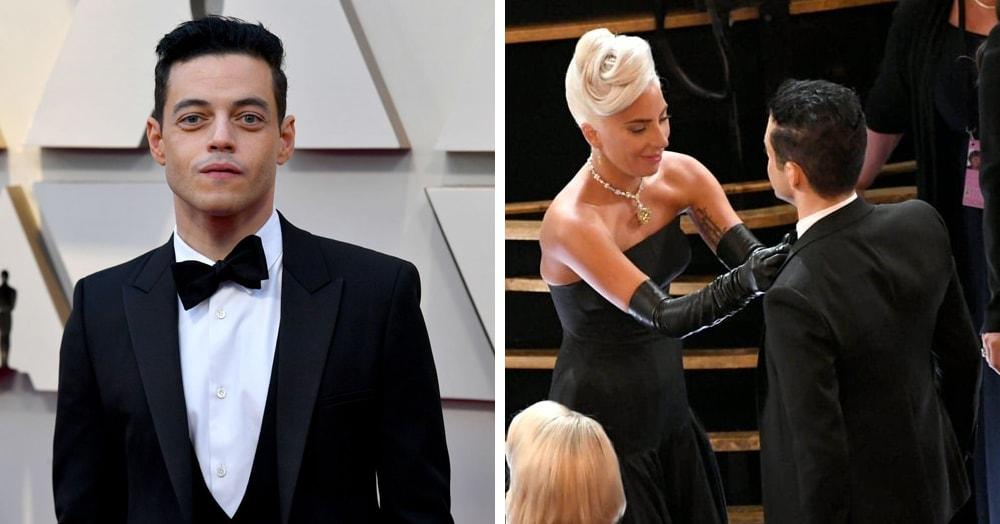 Покосившаяся бабочка Рами Малека раздражала всех на церемонии «Оскар» и стала мемом