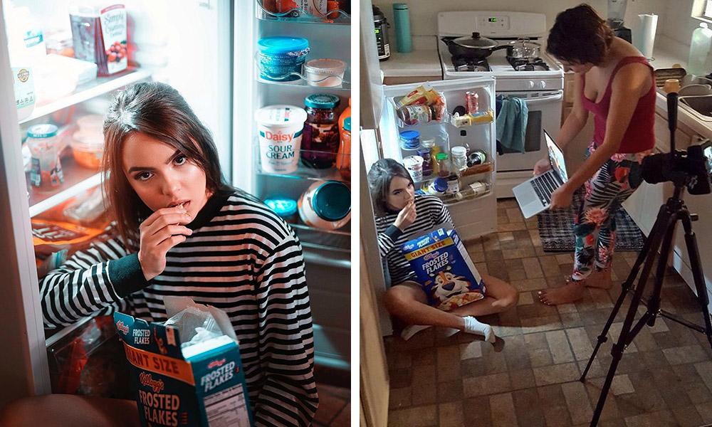3 4 - Честный американский фотограф показывает, что находится за кадром эффектных снимков для Инстаграма