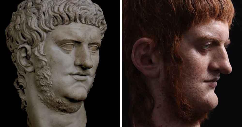 Итальянский скульптор создаёт реалистичные бюсты римских императоров. Нерона люди не оценили