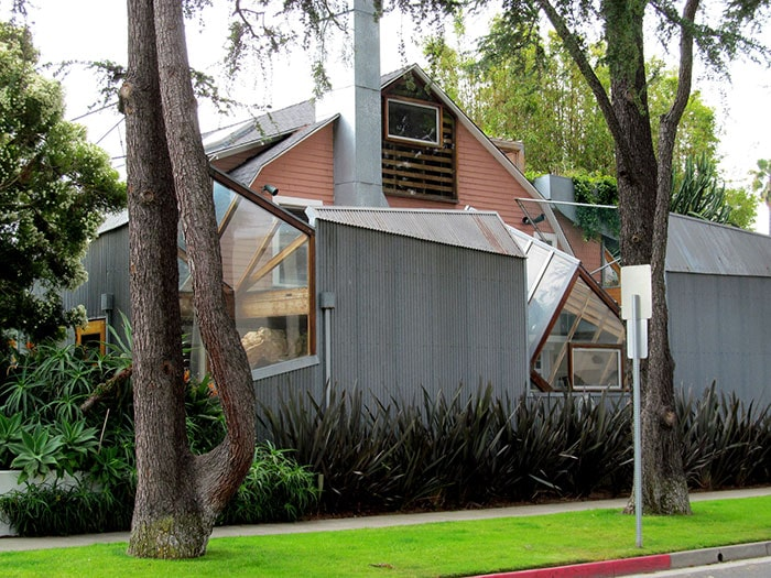 Frank Gehry's Residence In Santa Monica, California